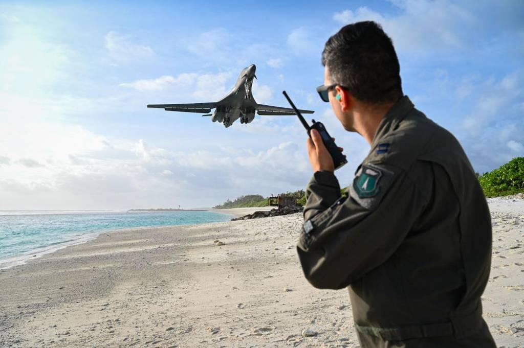 B-1B bombers return to Diego Garcia island base after 15 years