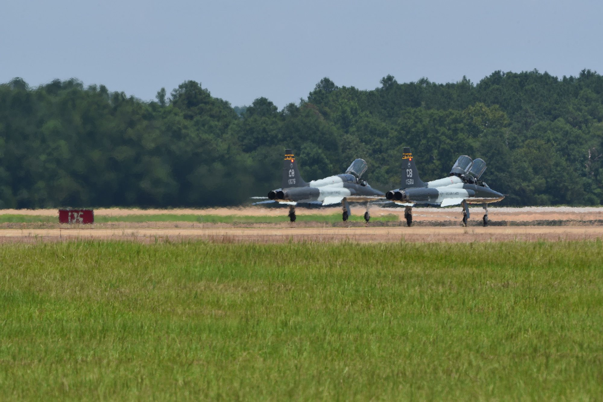 Air Force releases name of flight instructor killed in Alabama plane crash