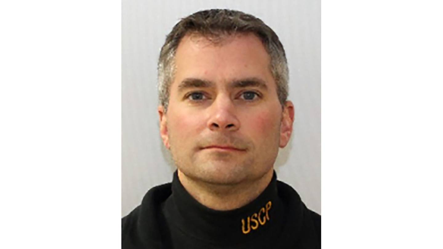 This undated image provided by the United States Capitol Police shows U.S. Capitol Police Officer Brian Sicknick, who died Thursday, Jan. 7, 2021, of injuries sustained during the riot at the Capitol.