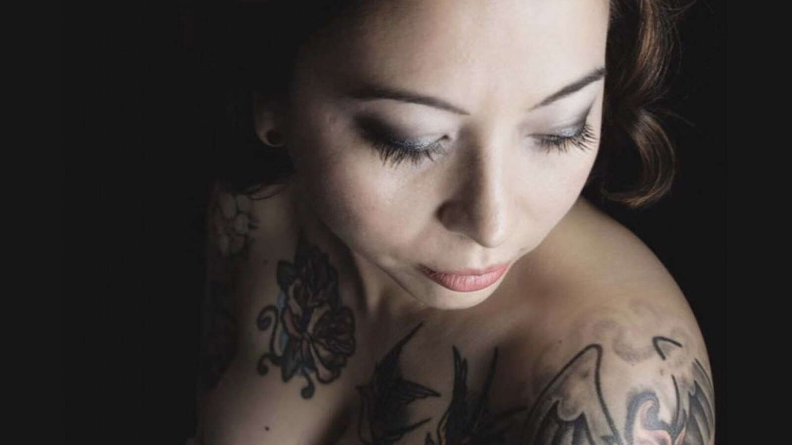 Tattooed vet competes for cover girl spot with 'Inked' magazine