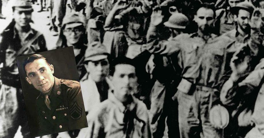 Once a college football star, this soldier was recognized by his captor on the Bataan Death March