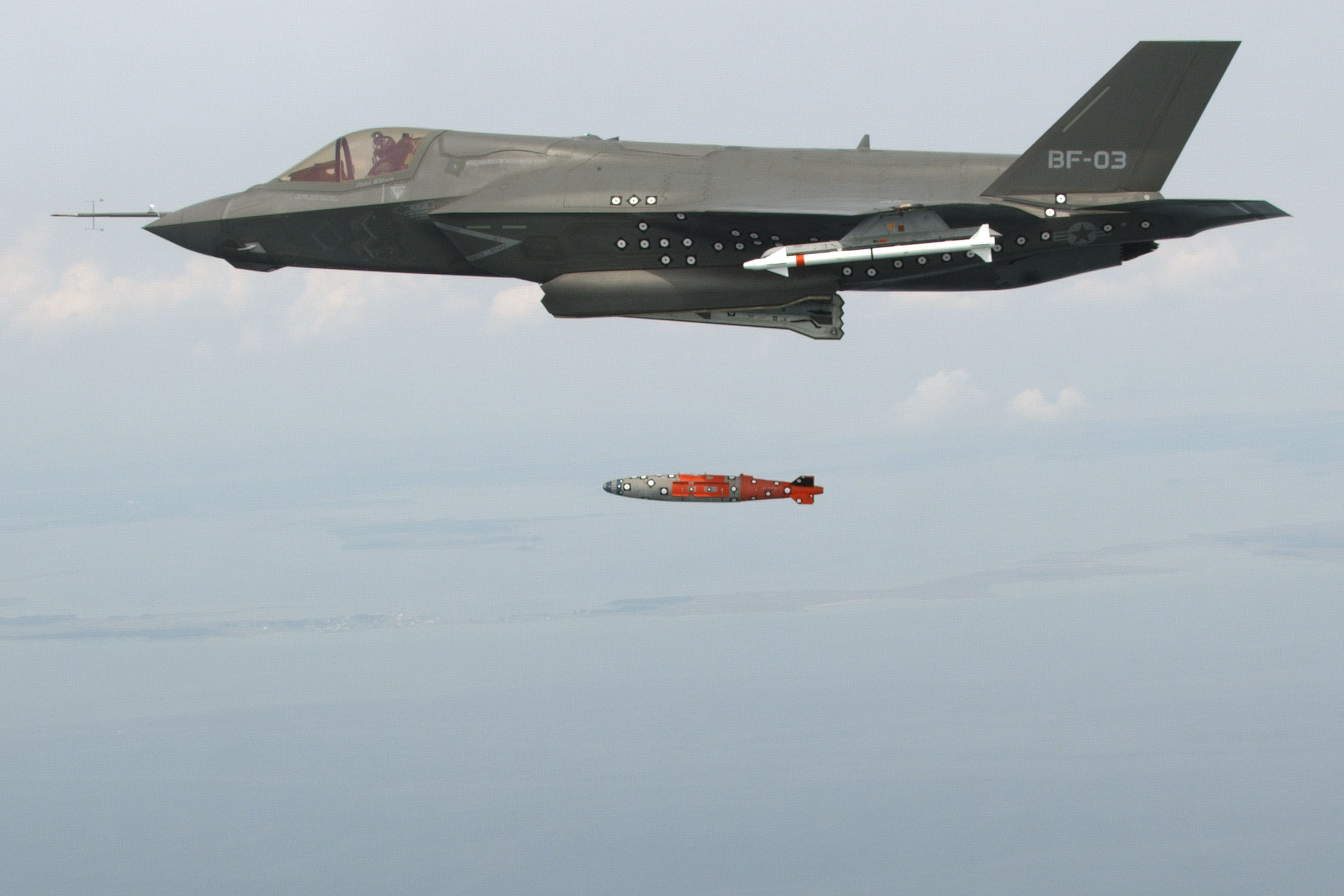 F-35B damaged by its own round exploding in first Marine aviation class A mishap this year