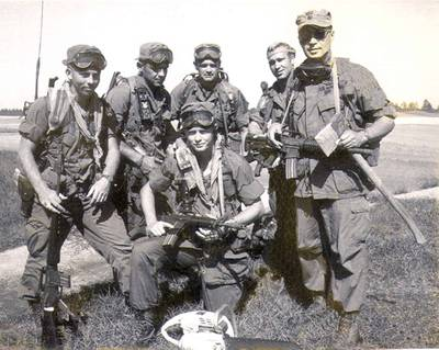 """The """"Red Wine"""" raiders were one of three teams who stormed the Son Tay prison compound in North Vietnam in search of some 61 POWs on Nov. 21, 1970."""