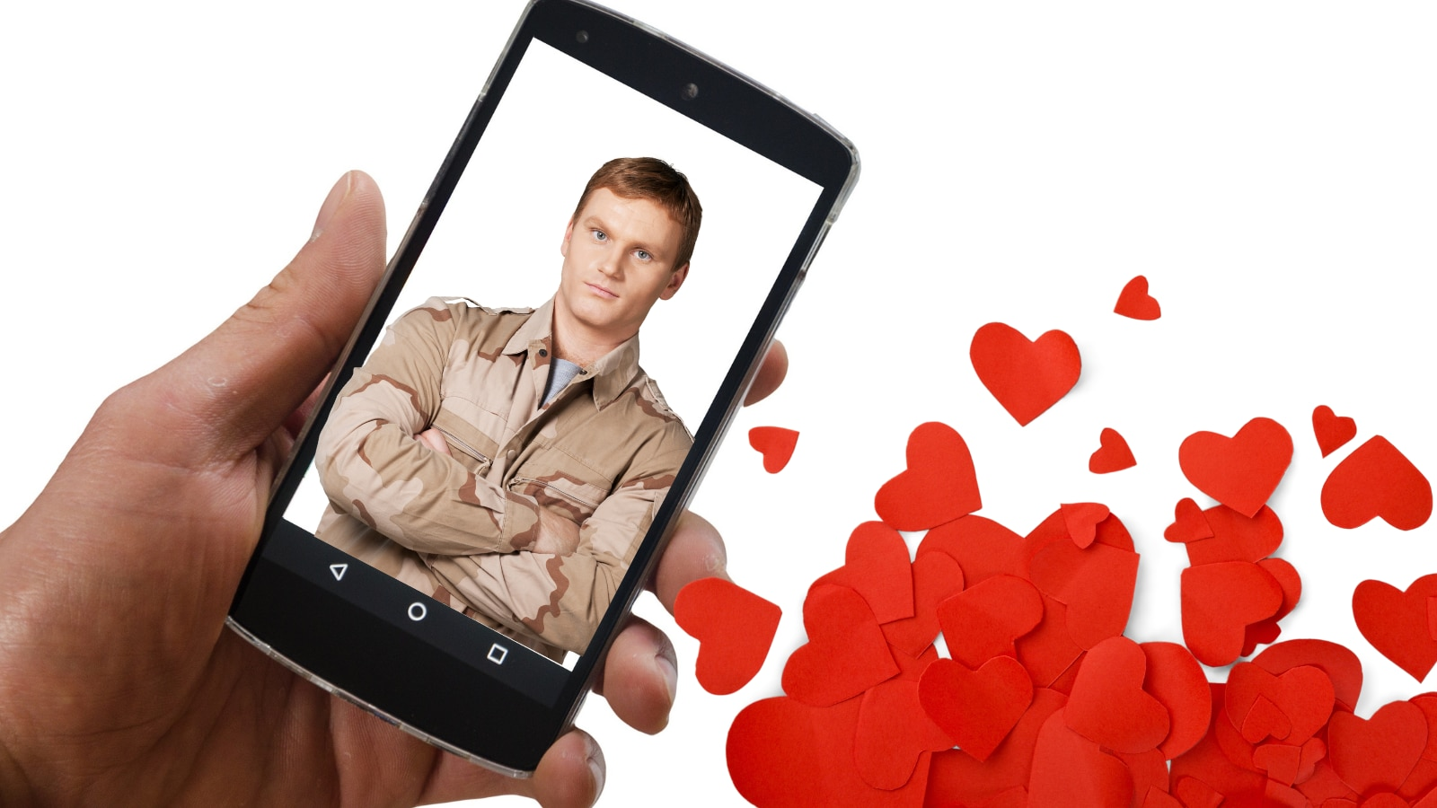 7 military dudes you see on dating apps