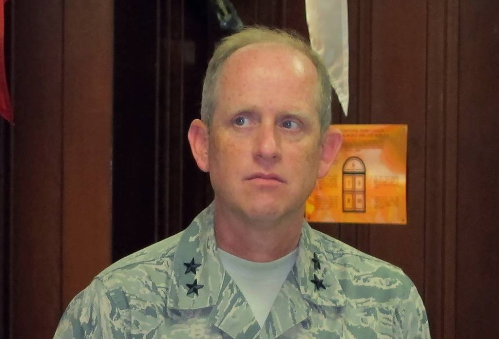 Maj. Gen. Don Dunbar