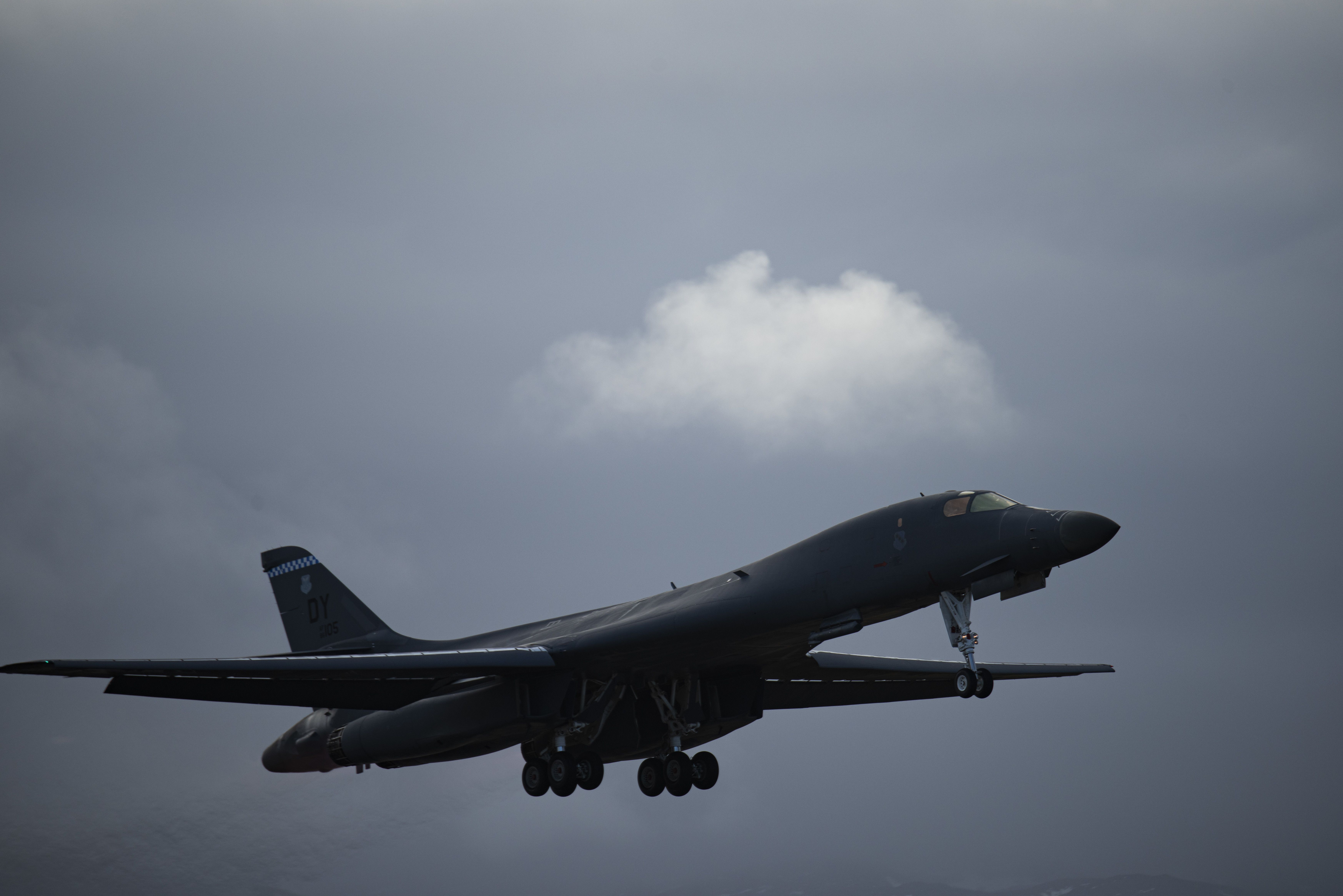 B-1B Lancers conduct first Bomber Task Force mission from Norway