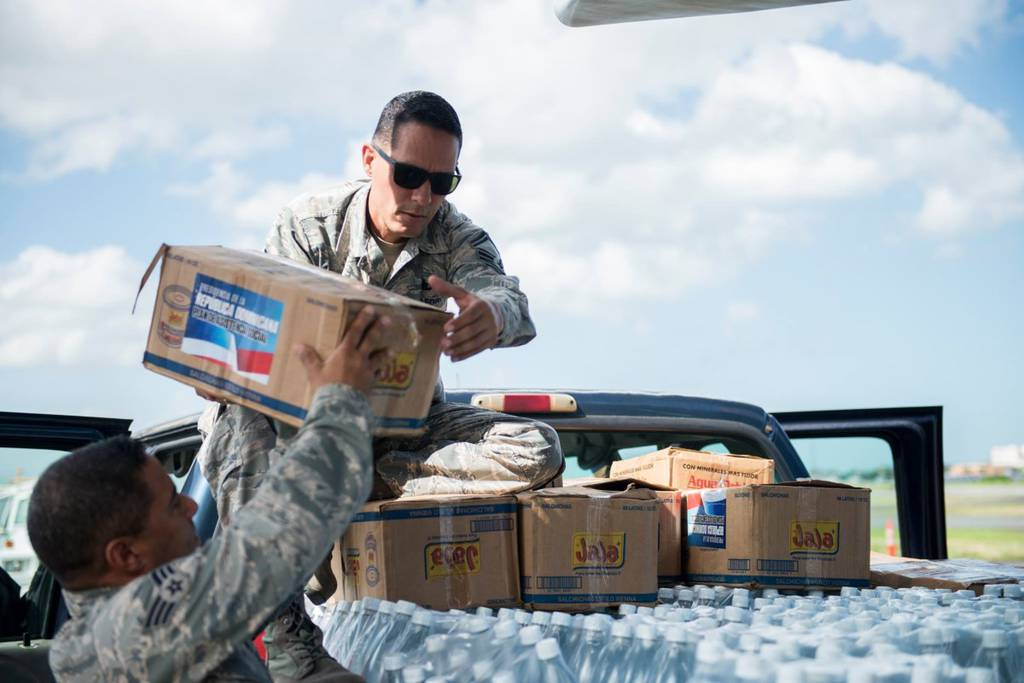 There are no actual plans to deploy troops to help with the supply chain