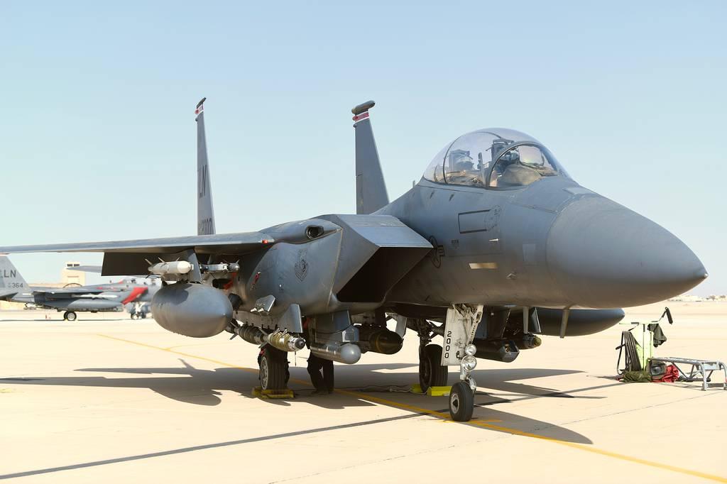 F-15E Strike Eagle, Prince Sultan Air Base