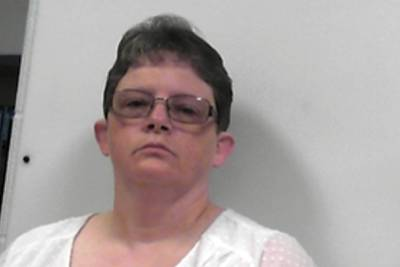 This photo released July 14, 2020, by the West Virginia Regional Jail and Correctional Facility Authority shows Reta Mays, a former nursing assistant at the Louis A. Johnson VA Medical Center in Clarksburg, W.Va.