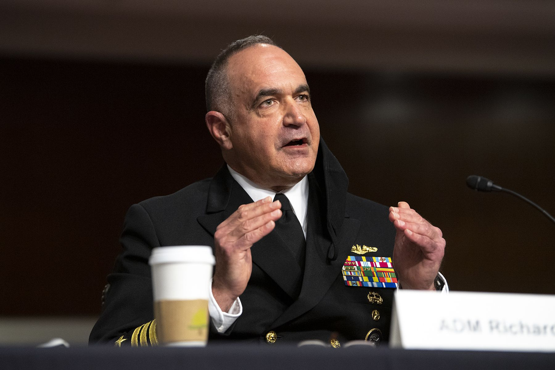 STRATCOM boss clarifies comments on 'zero' extremism in his organization