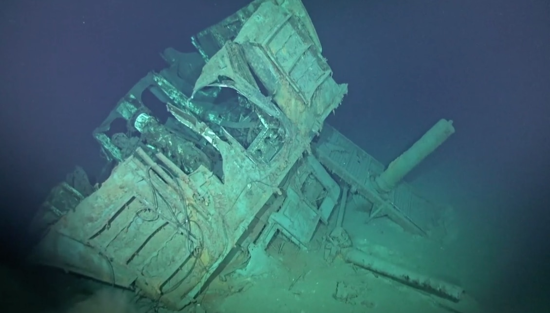 Wreck of USS Johnston discovered 77 years after its sinking at the Battle of Leyte Gulf